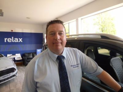 Tony Barnes - Sales Manager