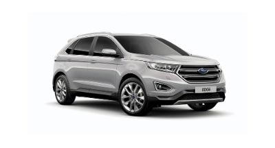 Ford Edge - Available In Ingot Silver