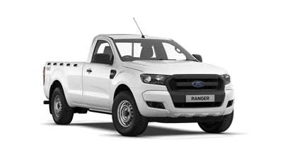 Ford Ranger - Available In Frozen White