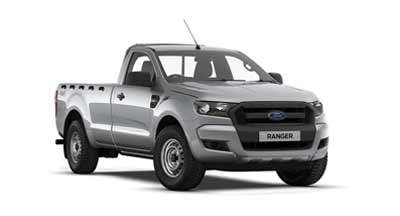 Ford Ranger - Available In Moondust Silver