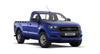 Ford Ranger - Available In Performance Blue
