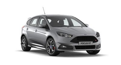 Ford Focus St - Available In Moondust Silver