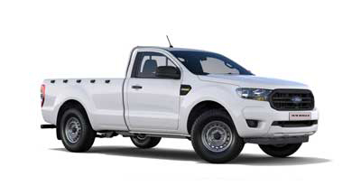 Ford New Ranger - Available In Frozen White